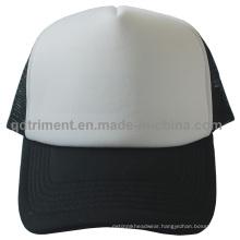 Promotion Sponge Polyester Sport Mesh Trucker Cap Hat (TMT0054A-1)