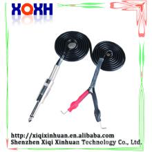 Flexible Tattoo Maschine Rahmen Aluminium Tattoo Clip Schnüre, langlebige Stromversorgung Kabel