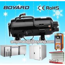 Compressor de refrigeração do supermercado refrigeraiton vertical 7000btu usar freezer de sorvete