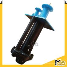 Gummi ausgekleidete vertikale Zentrifugalschlammpumpe