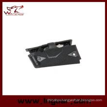 Shotgun Rail Cover Protect Rail of Red DOT Laser Grip 1911 Pistol Black