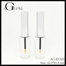 Plástico especial forma delineador de ojos tubo/delineador envase AG-ELN02, empaquetado cosmético de AGPM, colores/insignia de encargo