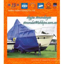 Retardante de incêndio e impermeável Boat Cover PVC Tarpaulin para Barco, Navio
