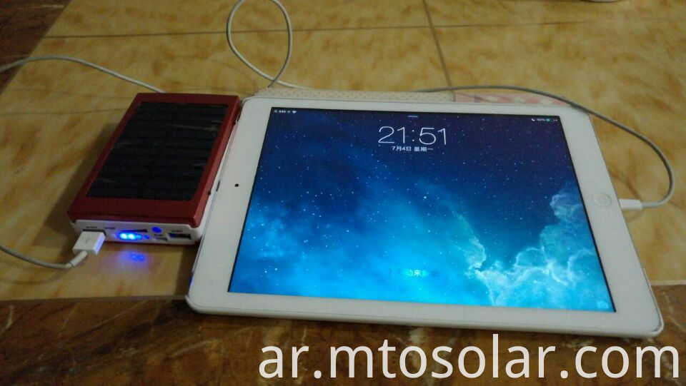 power bank charging IPAD