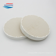 far infrared honeycomb ceramic plate in industrial gas burner
