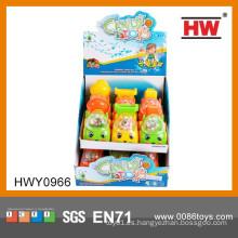 Dulce juguetes de juguete de plástico camión de juguete promocional