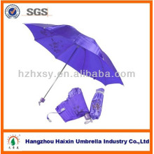 3 paraguas plegable de tela de raso