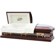 Homestead 18gauge acier brossé cercueil