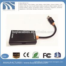 Micro usb to HDMI Adaptador MHL Cable para sumsung huawei xiaomi slimPort converter