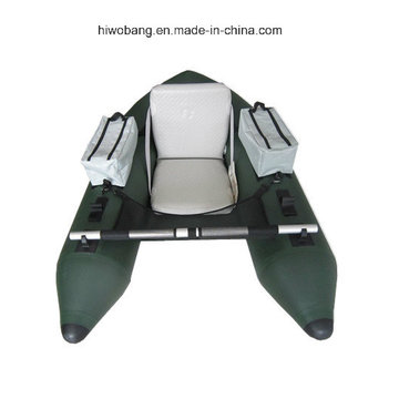 Barco de pesca de calidad militar pequeño bote flotador tubo