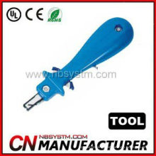 Impact Punch Down Tool for seating wire into northern telecom terminal block