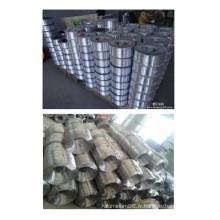 Fil d'aluminium pur, fil d'aluminium de 99 degrés, fil d'aluminium à 99.99% de pureté