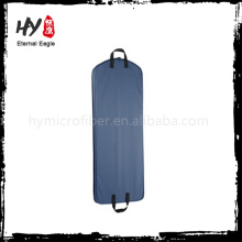 High quality zipper pocket garment bag, suit cover, black nonwoven garment bag