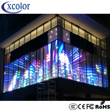 P3.91 Glass Window LED Display Screen