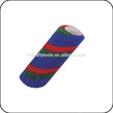 diferentes colores del cepillo del rodillo de la manga del rodillo de pintura