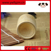 taza de té decorativa de la fibra de bambú de la taza de consumición