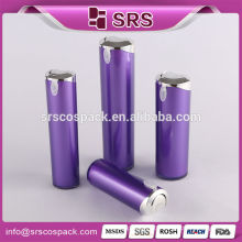 Personalized Plastic Container And wholesale Plastic Cone Shape Elegant Purple Lotion Pump 2 oz Liquid Squeeze Bottle