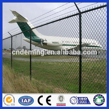 DM powder coated high quality steel wire welded high security airport fence from Alibaba golden supplier