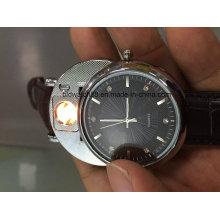 Popular reloj encendedor USB para hombre