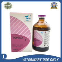 Médicaments vétérinaires de 5% d'injection d'oxytétracycline (50 ml / 100 ml)