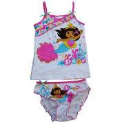 Children's Underwear Set, Top in 3 Packs, Made of 100% Cotton, 1 x 1 Rib, 180g