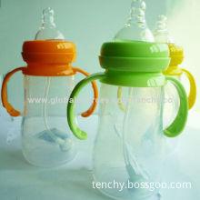 100% FDA Silicone baby feeding bottleNew