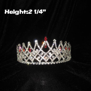 Lovely Princess Small Crowns With Red Diamond