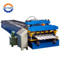 Aluminium Arc Glazed Roof Tile Channel Roll Forming Machine