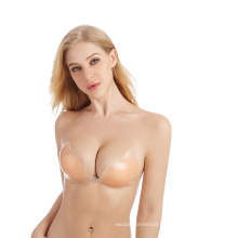 Sexy women Silicone Bra Freebra Strapless Invisible Bra