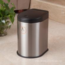 Cubo de basura para interiores de acero inoxidable (H-3B)