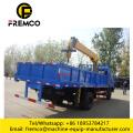 4x2 Folded Boom Truck with Crane 6 ton