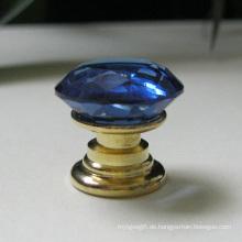 20mm blaue Glaswaren Dekor Hardware Möbel Zubehör