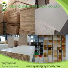 Bbcc Grade Melamin Papier Gesicht Block Board Sperrholz für Möbel