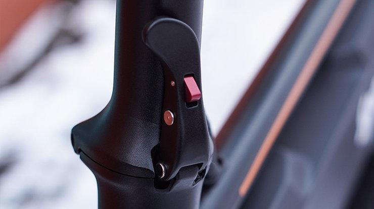 D1 E Bike Folding System
