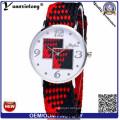 Yxl-208 2016 New Colorfull Woven Fabric Watches, Nylon Watch Quartz Casual Sport Watch Ladies