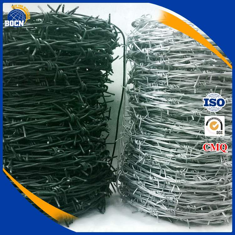 high quality galvanized barbed wire with low price