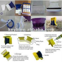 Limpiador de vidrios de doble cara / Limpiador de ventanas magnético -Fabricante de suministro