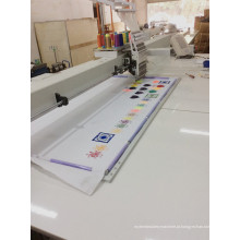 Máquina de bordar informatizada do tampão da cabeça do produto novo com área grande do bordado Wy1501c