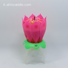 Fuochi d'artificio Flower Birthday Candle