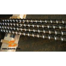 Винтовой цилиндр для экструзии кабелей из ПВХ