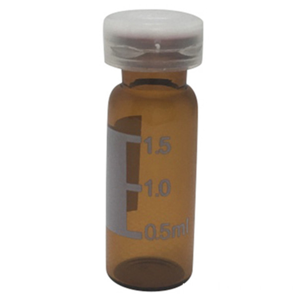 Frascos de Cromatografia 2mL Clear Snap Vial
