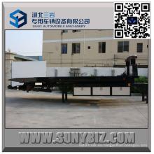 Carro de remolque de plataforma plana de 4 toneladas Fb5