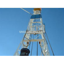 hydraulic Drilling Rig derrick - mast 2200Nm Max.Torque for