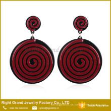 China Suppler Einfache Design Ohrringe Tropfen Emaille Von Ohrringe Lollipop Acryl Baumeln Ohrring Modelle Schmuck