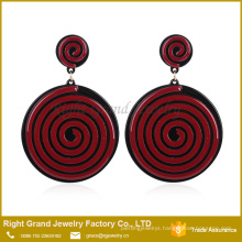 China Suppler Simple Design Earrings Drop Enamel From Earrings Lollipop Acrylic Dangle Earring Models Jewelry