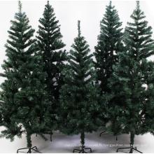 Arbre de Noël artificiel de décoration de Noël