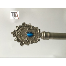 Silver Color Curtain Rod Iron Curtain Pipe (TF 1908X)