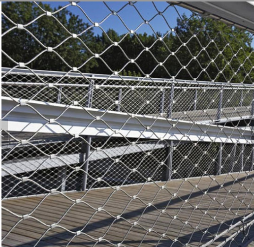 Bridge Protection Stainless Steel Wire Rope Mesh 01