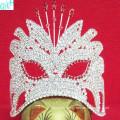 Small beautiful mask crown
