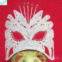 Corona pequeña máscara hermosa